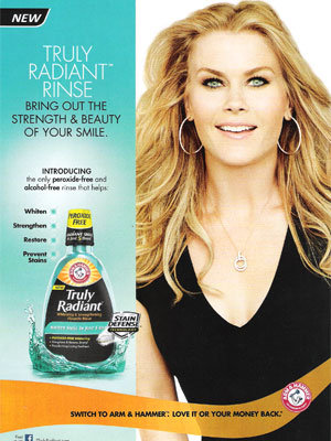 Alison Sweeney for Arm & Hammer