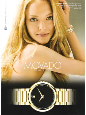 Amanda Seyfried Movado