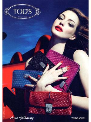Anne Hathaway Actress Celebrity Endorsements Celebrity