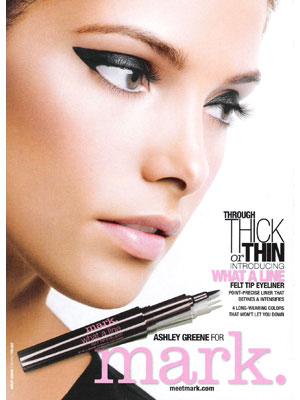 Ashley Greene for Mark by Avon