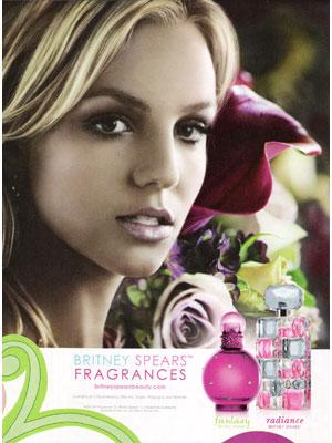 Celebrity endorsed perfume