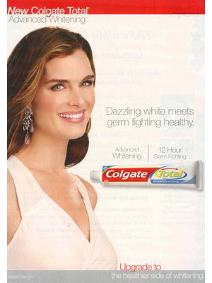Brooke Shields for Colgate Total