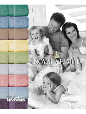 Brooke Shields for Royal Velvet