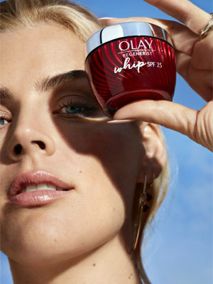 Busy Philipps for Olay beauty ad