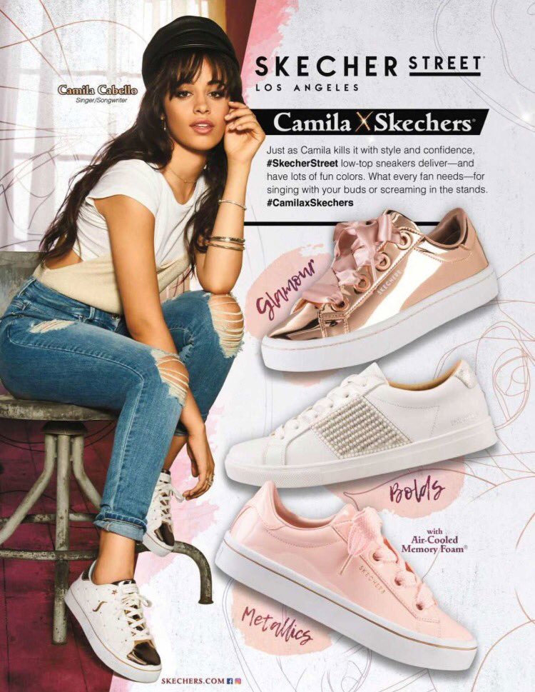 Camila for Skechers USA – Camila Cabello