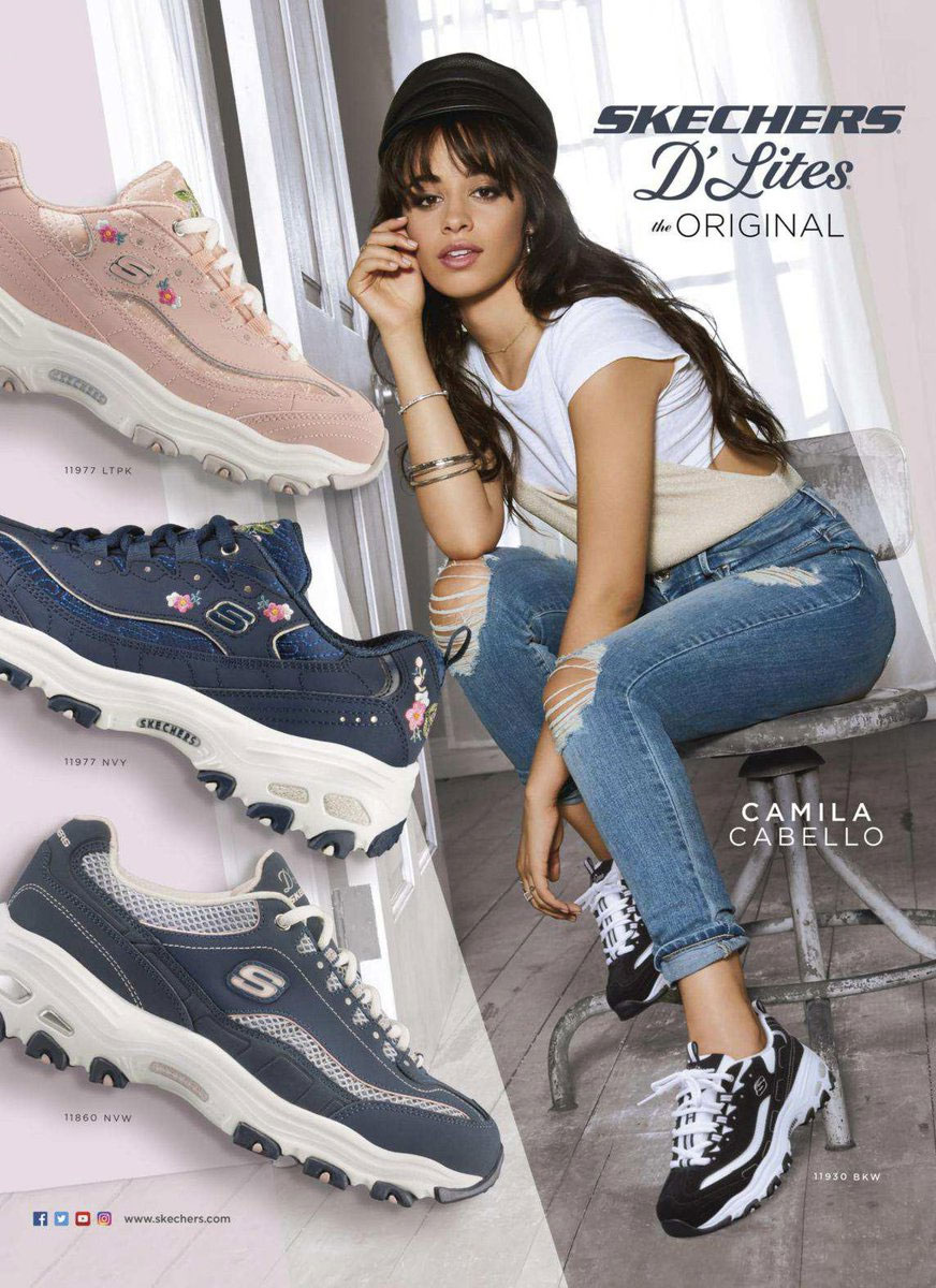 Camila Cabello's New Skechers Ad Campaign Is All About