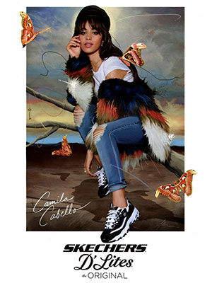 Camila Cabello Skechers Celebrity Fashionation