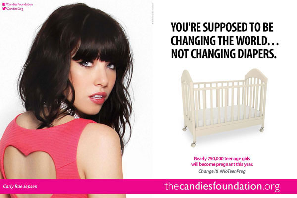 Carly Rae Jepsen Candie's Foundation celebrity endorsements