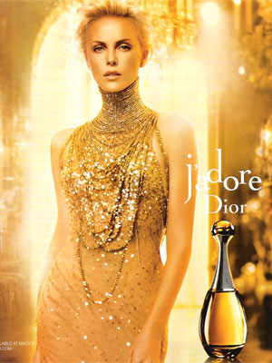 Charlize Theron Dior celebrity endorsement ads