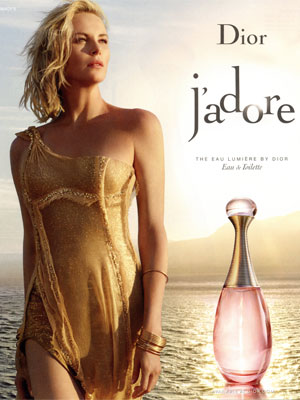 Charlize Theron Dior Celebrity Fragrance Ad