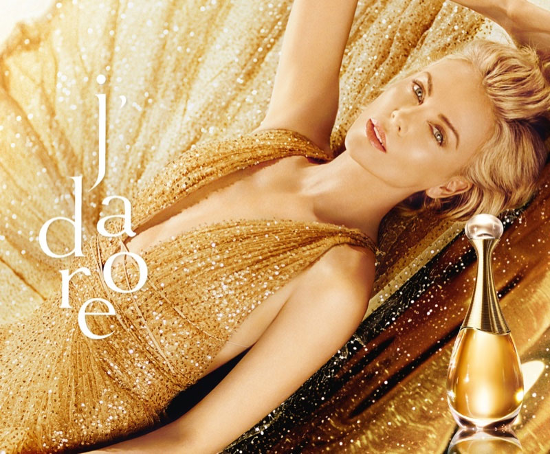 Charlize Theron for Dior J'adore
