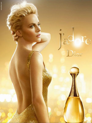 Charlize Theron for Dior