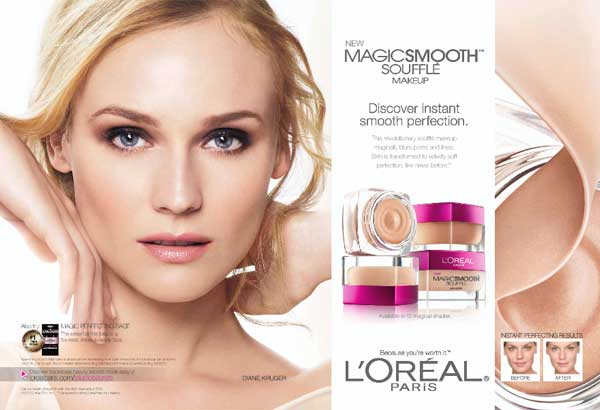 loreal advertisement analysis L'oreal swot analysis through adapting to the culture of their target market as the main tool of their advertisement, the company brought l'oreal products within reach of other women from different parts of the world weaknesses.
