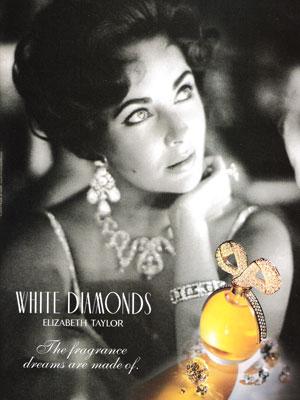 Celebrity perfume ads