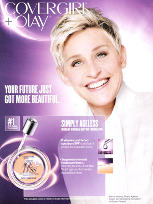 Ellen Degeneres Is the New Cover Girl