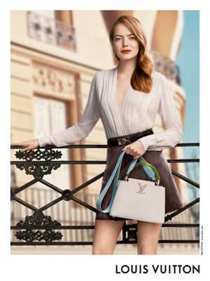 Emma Stone celebrity ad Louis Vuitton SS20