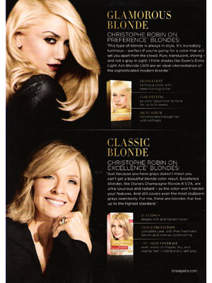 Gwen Stefani Loreal celebrity endorsement ads