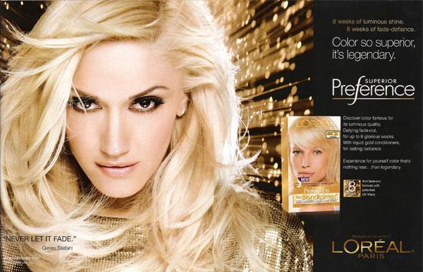 Gwen Stefani Singer Celebrity Endorsements Celebrity