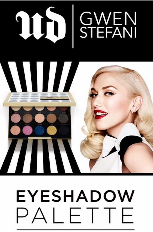 urban decay cosmetics ads. gwen stefani urban decay celebrity endorsements cosmetics ads c