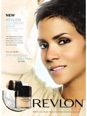 Halle Berry, Actress - Revlon : Celebrity Endorsements