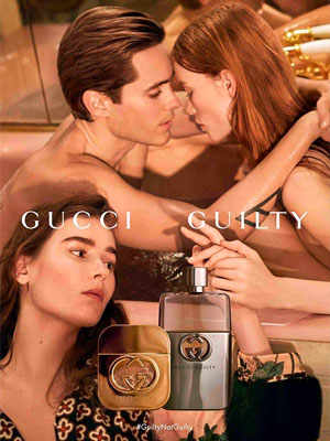 Jared Leto Gucci Celebrity Perfume Ad