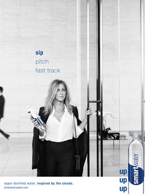Jennifer Aniston Smart Water