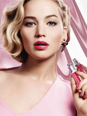 Jennifer Lawrence Dior