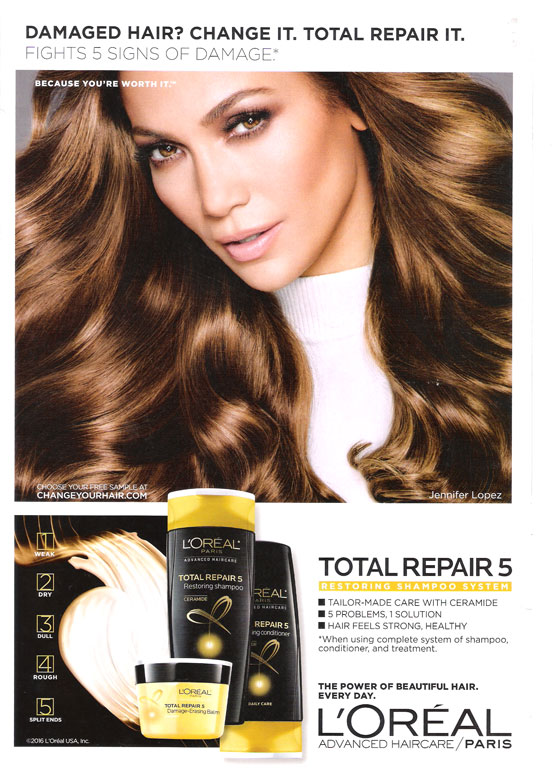 Jennifer lopez singer actress celebrity endorsements celebrity jlo loreal total repair ad altavistaventures Choice Image