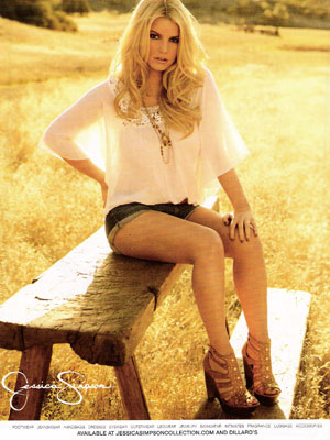 Jessica Simpson Collection celebrity fashions endorsements