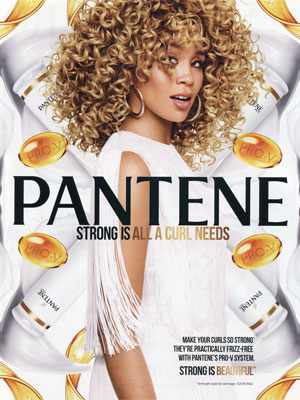 Jillian Hervey Pantene Celebrity Beauty Ad