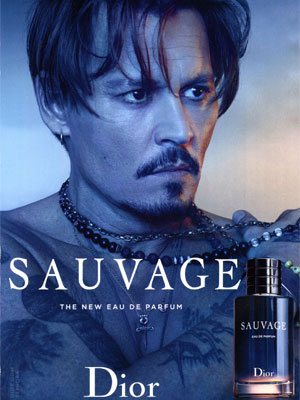 Johnny Depp Dior Sauvage Ad