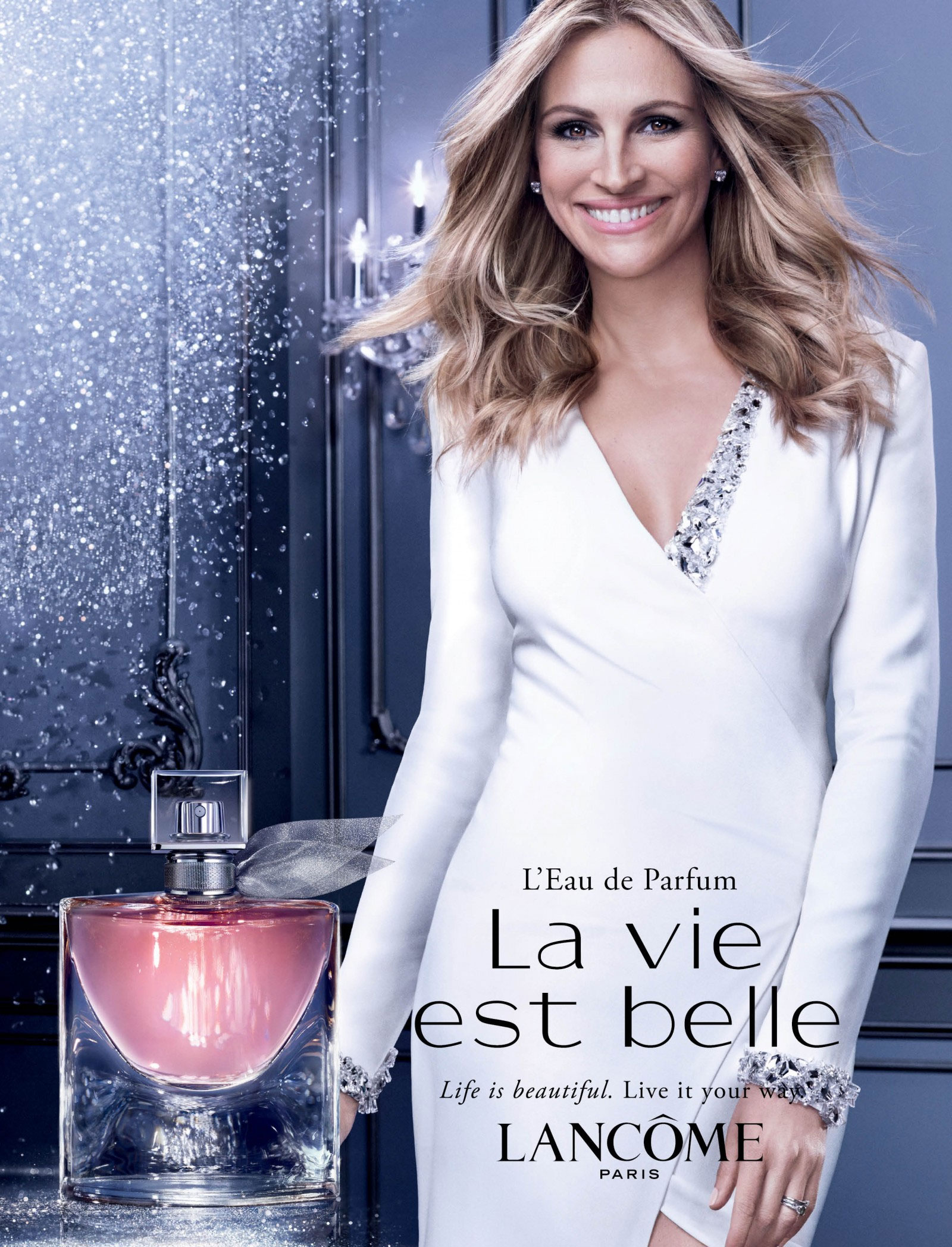 Resultado de imagem para julia roberts perfume campaign