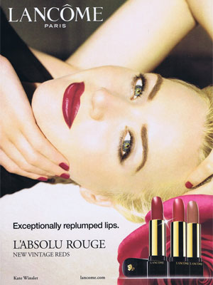 Kate Winslet Actress Celebrity Endorsements Celebrity
