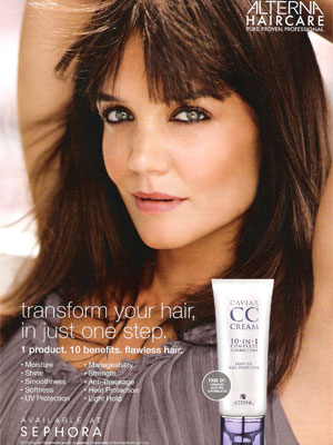 Katie Holmes for Alterna