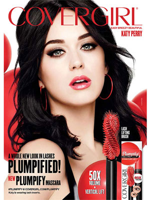 Katy Perry CoverGirl 2016