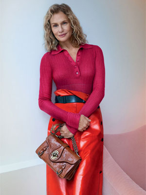 Lauren Hutton Bottega Veneta Fashion Models