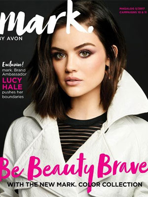 Lucy Hale Avon Celebrity Ads