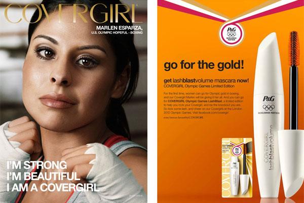 Marlen Esparza Covergirl celebrity ad endorsements