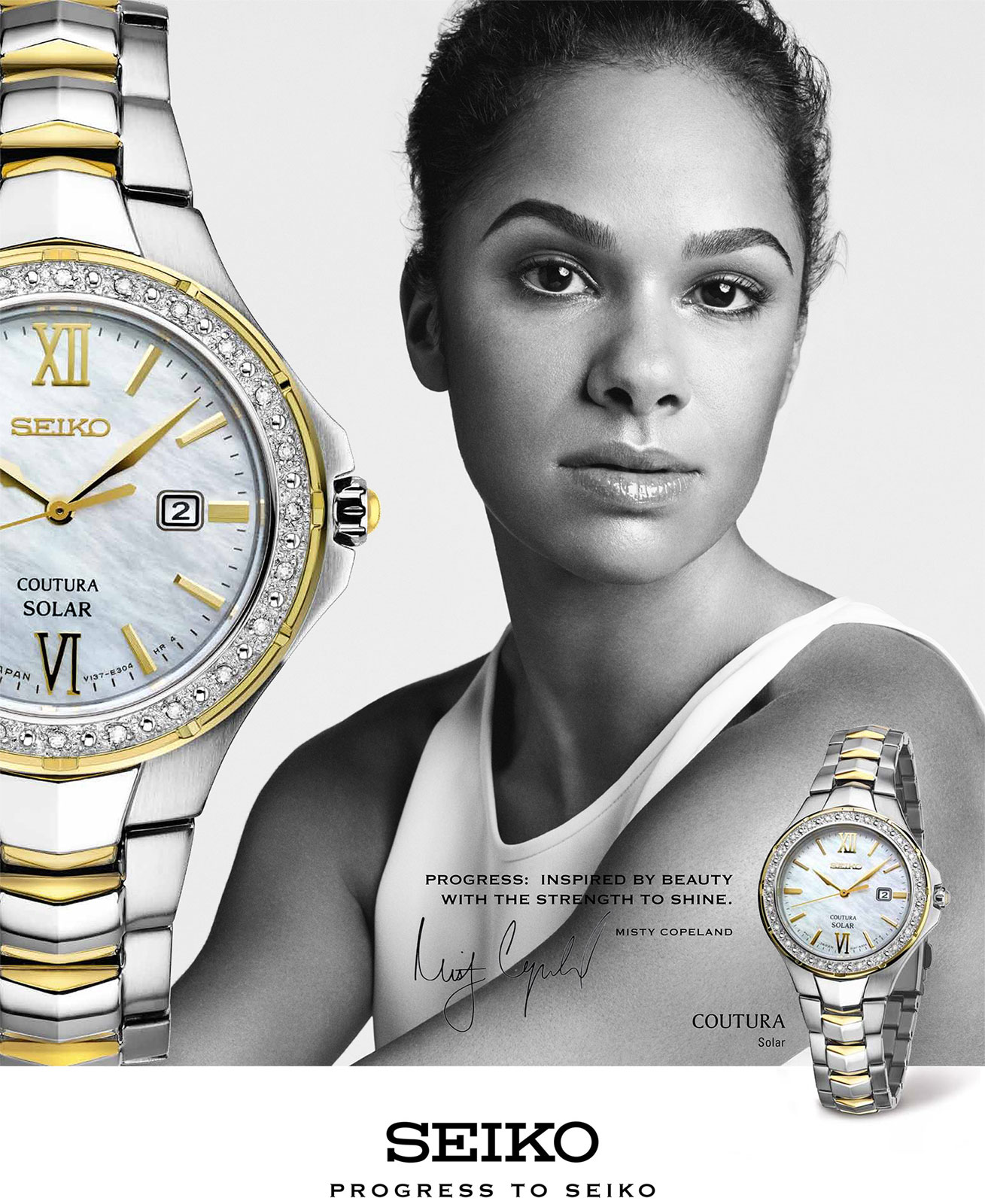 Misty copeland ballet dancer celebrity endorsements celebrity advertisements celebrity for Celebrity seiko watch