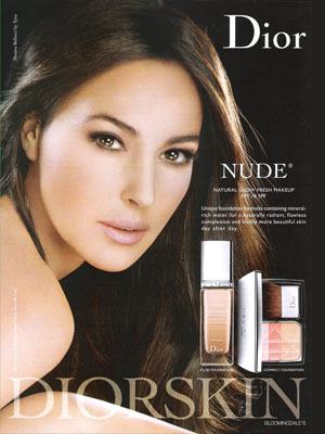 monica bellucci actress celebrity endorsements