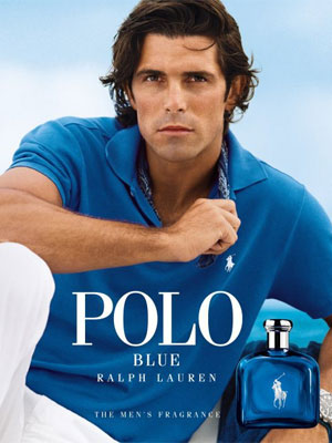 Nacho Figueras Ralph Lauren Polo Blue celebrity endorsement advertising