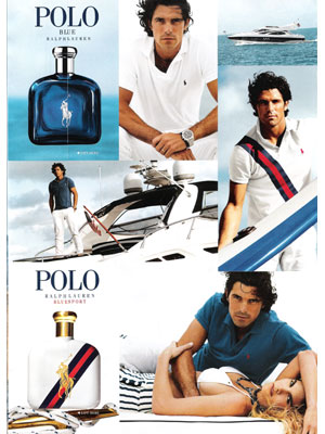 Nacho Figueras Ralph Lauren Polo celebrity ads