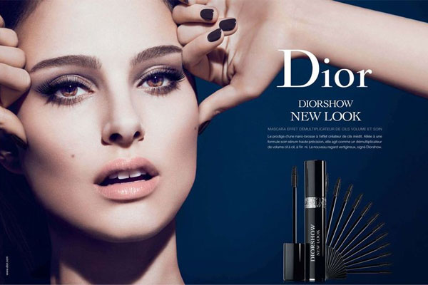 Natalie Portman Dior celebrity endorsement ads