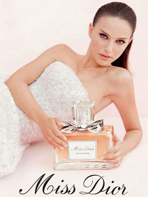Natalie Portman Miss Dior celebrity endorsement ads