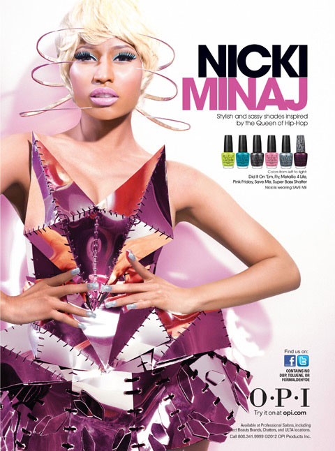 Nicki Minaj Singer Celebrity Endorsements Celebrity Advertisements Celebrity Endorsed Products