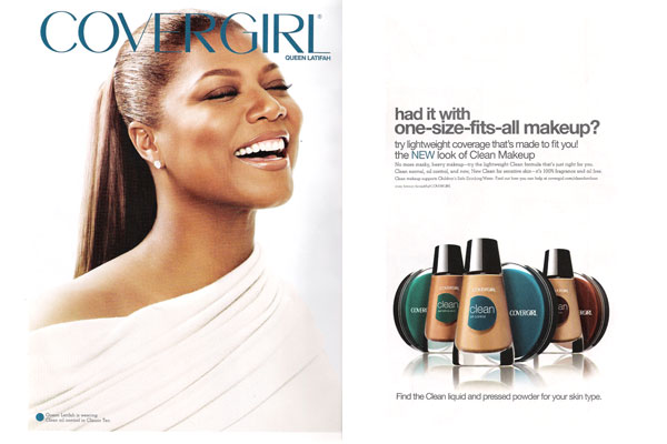 Queen Latifah Covergirl