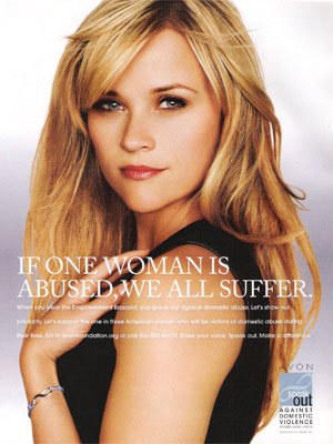 Reese Witherspoon Crafts Art