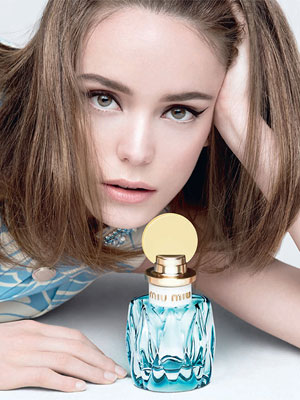 Stacy Martin Miu Miu Celebrity Endorsement Ad