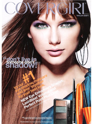 Taylor Swift CoverGirl celebrity endorsements