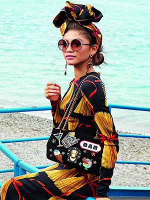 Zendaya Dolce and Gabbana Celebrity Fashionation